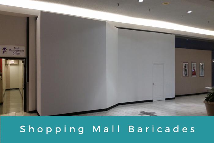 Shopping Mall Baricades